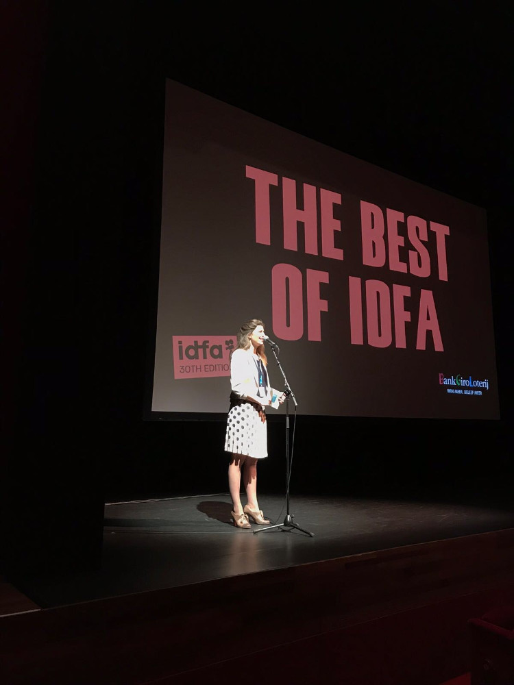 presentatie Best of IDFA door Lisa Peters Dagverlichter